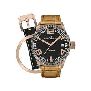 Zegarek damski Marc Coblen z dodatkowym paskiem i obręczą P25
