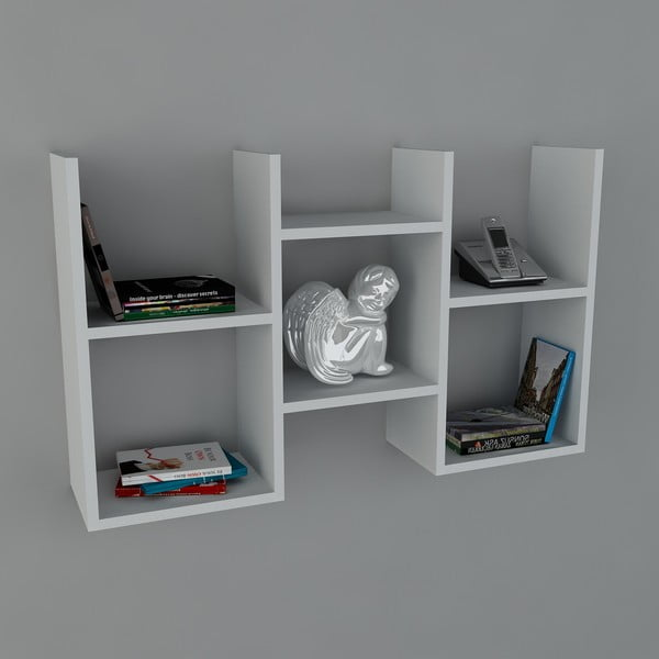 Półka Guess Book White, 22x97x59,5 cm