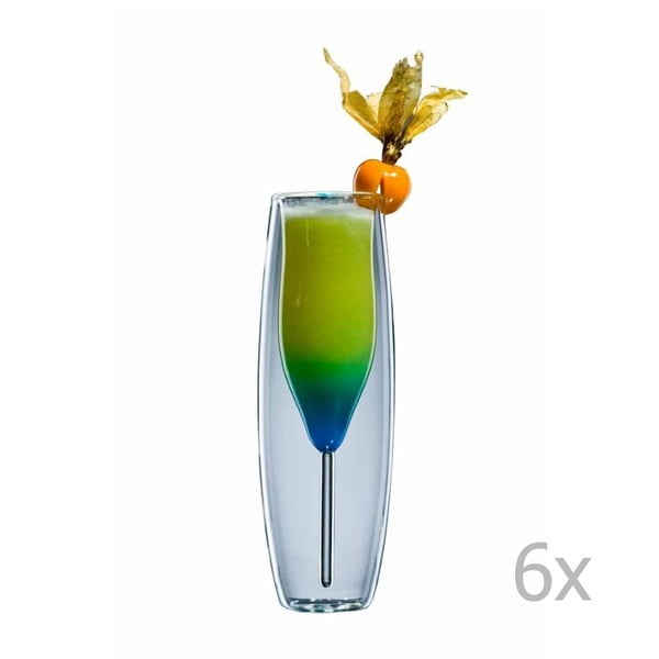 Zestaw   6 szklanek bloomix Prosecco