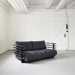 Sofa rozkładana Karup Funk Black/Gray