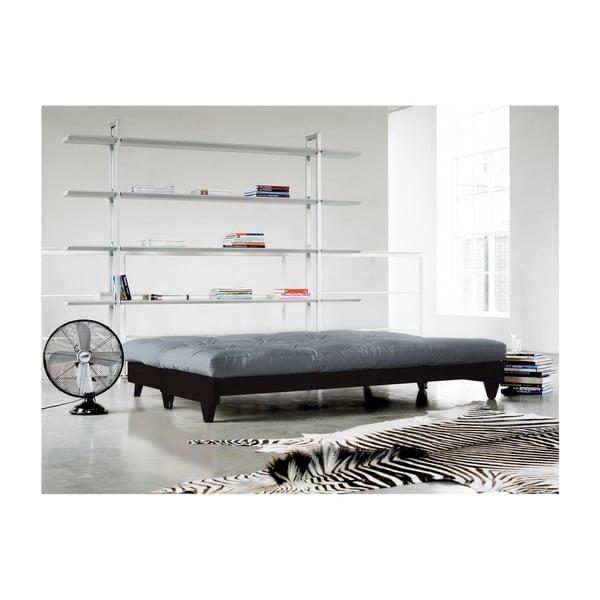 Sofa rozkładana Karup Fresh Wenge/Gris