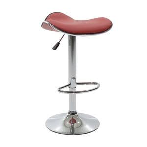 Krzesło barowe InArt Puero, czerwone