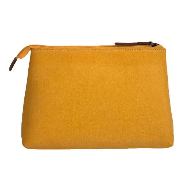 Kosmetyczka O My Bag Trippy, musztardowa