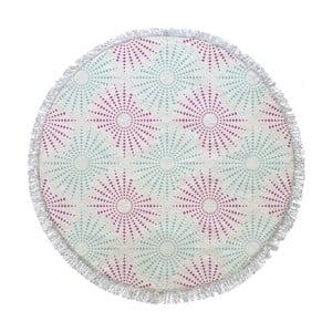 Okrągły ręcznik Pink Sun, ⌀155cm