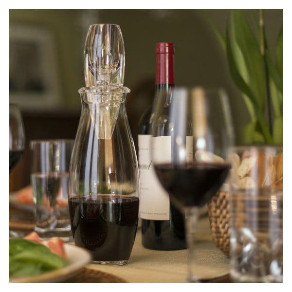 Karafka z napowietrzaczem do wina Vinturi