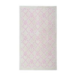Kremowy dywan bawełniany Floorist Powder, 60x90cm