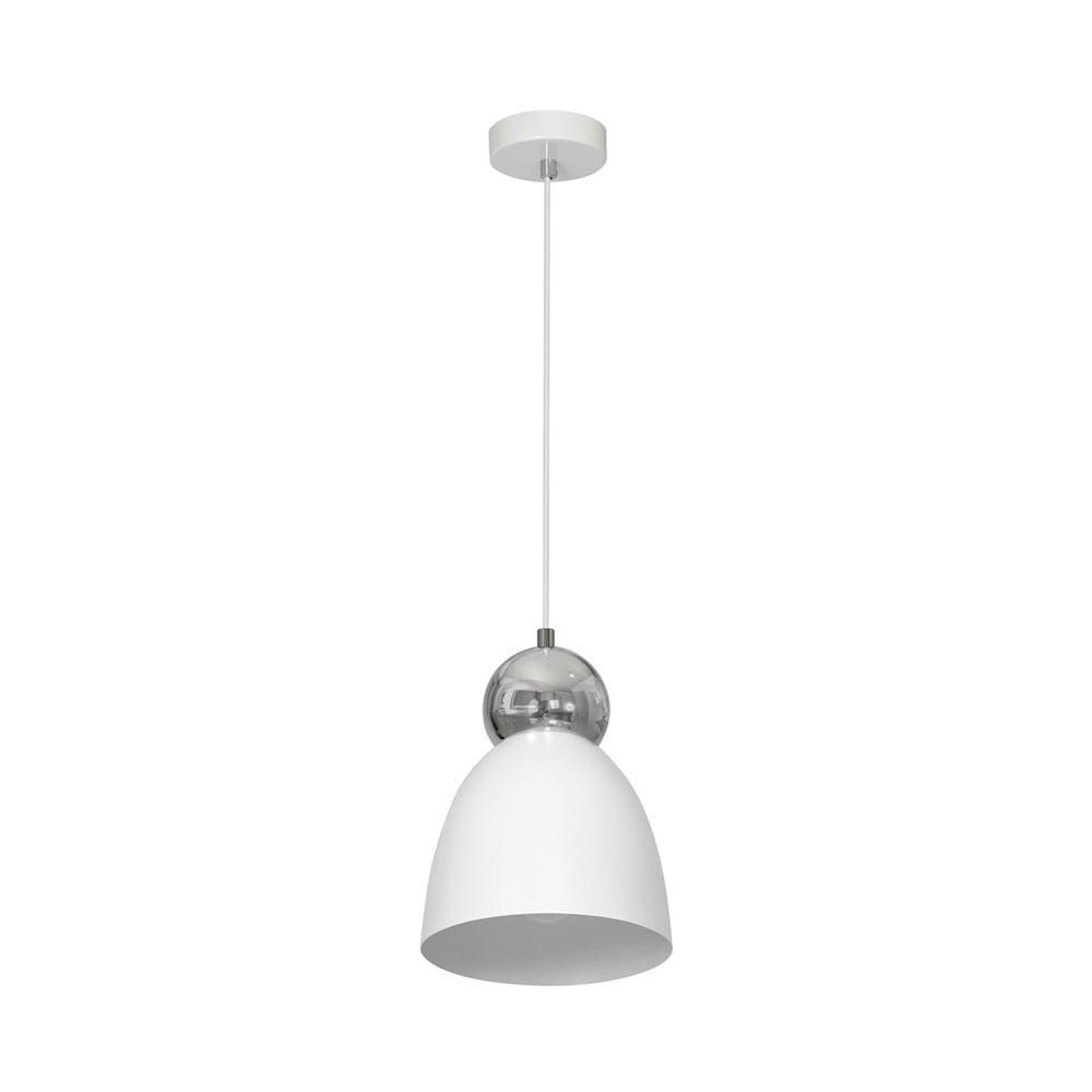 Biała lampa wisząca Taurus Uno