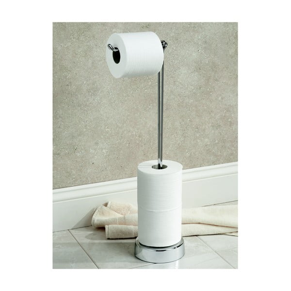 Stojak na papier toaletowy InterDesign Classico, 62 cm