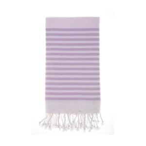 Ręcznik hammam Efes Lilac 100x180 cm
