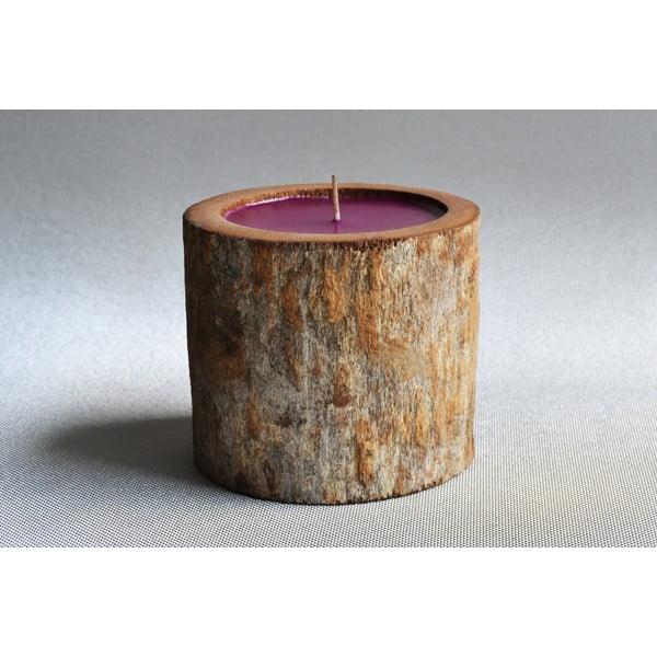 Palmowa świeczka Legno o zapachu białego piżma, 80 godzin palenia