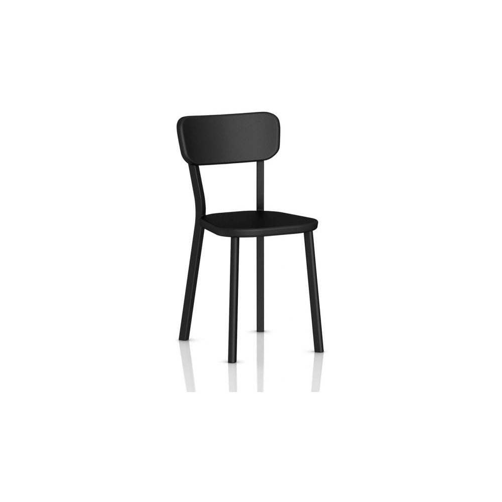 Czarne krzesło Magis Deja-vu