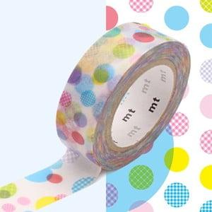 Taśma dekoracyjna washi Random Dot