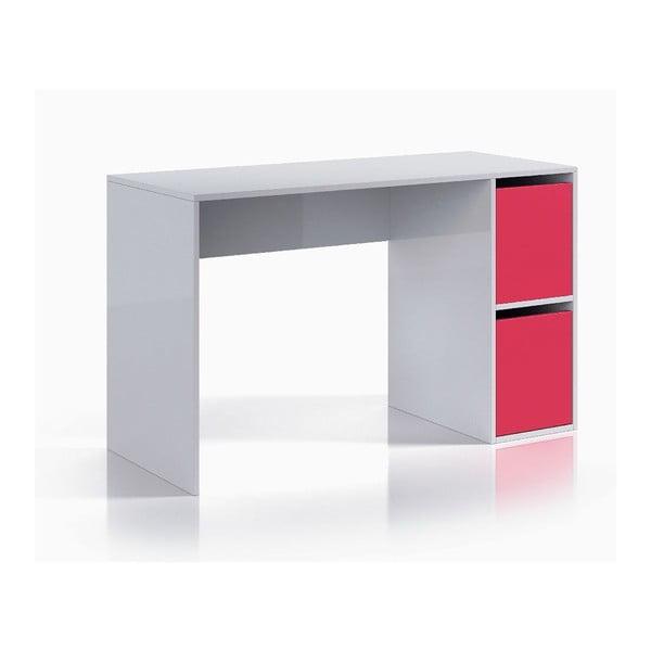 Różowo-białe biurko 13Casa Hesse