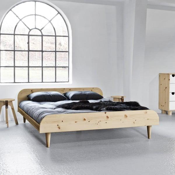 Łóżko Says Who for Karup Design Twist Natural, 160x200 cm