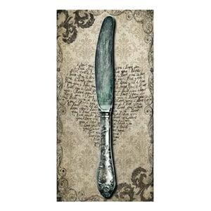 Obraz Nóż, 60x30 cm