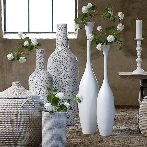 Biały wazon Canett Grenoble
