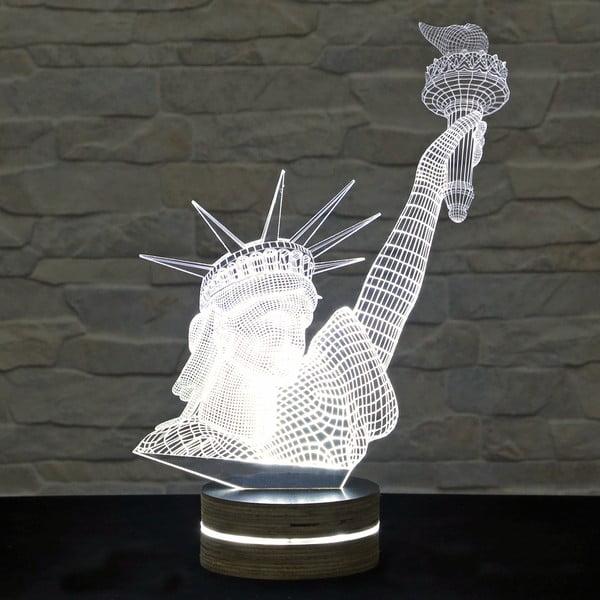 Lampa 3D stołowa Statue of Liberty