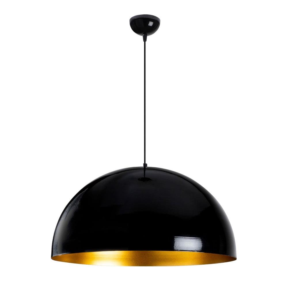 Czarna lampa sufitowa Opviq lights Berceste, ø 60 cm