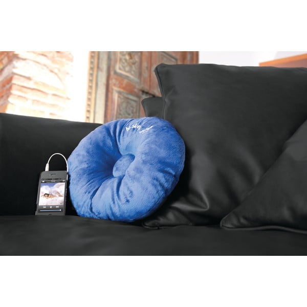 Poduszka z wbudowanym głośnikiem hi-Sleep, czarna