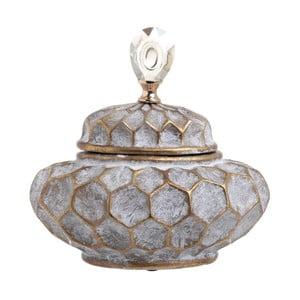 Pojemnik ceramiczny InArt Diamond, wysokość27cm