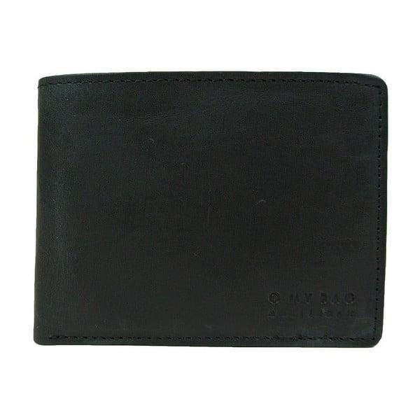 Czarny portfel skórzany O My Bag Tobi´s