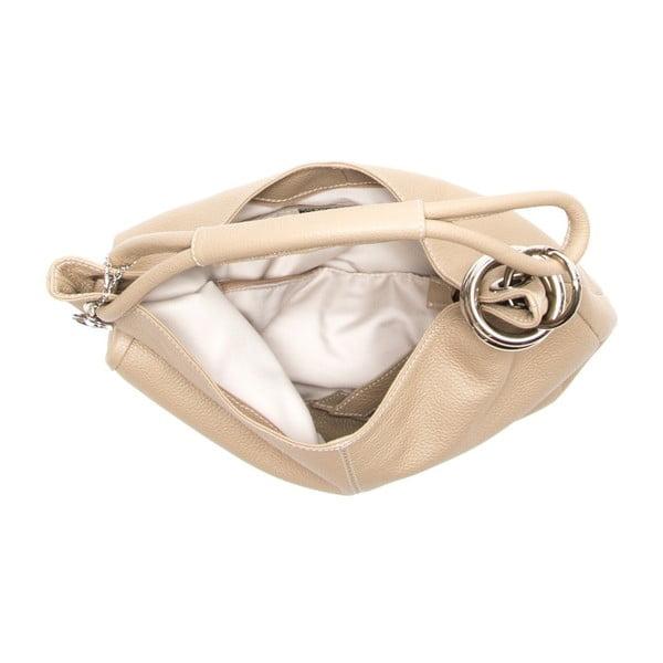 Skórzana torebka Carla Ferreri 1022 Fango