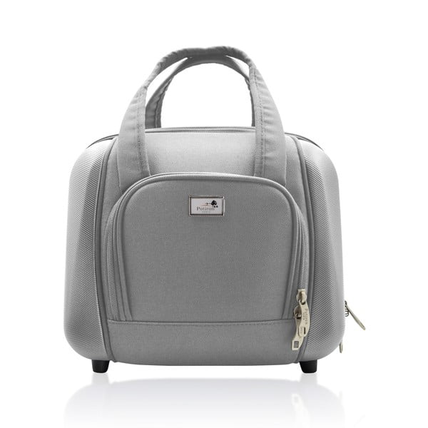 Komplet walizki i torby podróżnej Vanity Grey