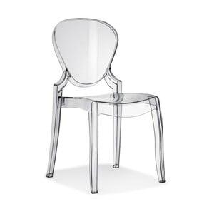 Przezroczyste krzesło Pedrali Queen