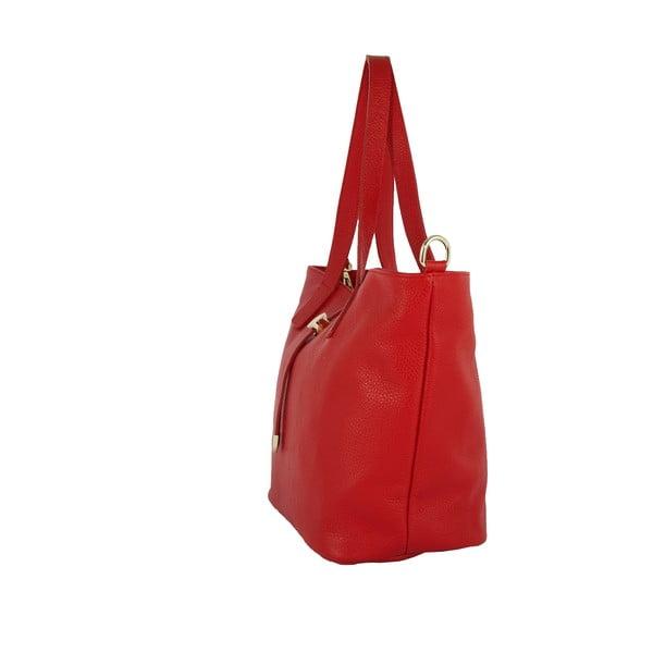 Czerwona torebka skórzana Andrea Cardone Metteo