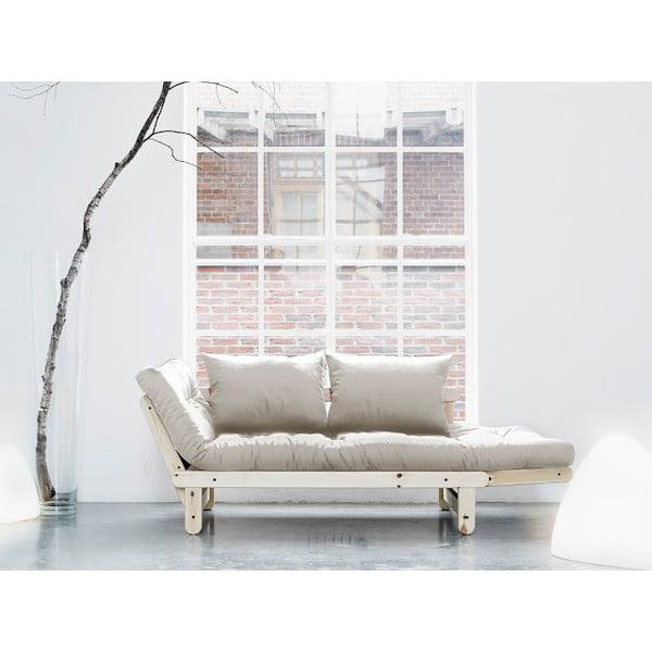 Sofa rozkładana Karup Beat Natural/Natural