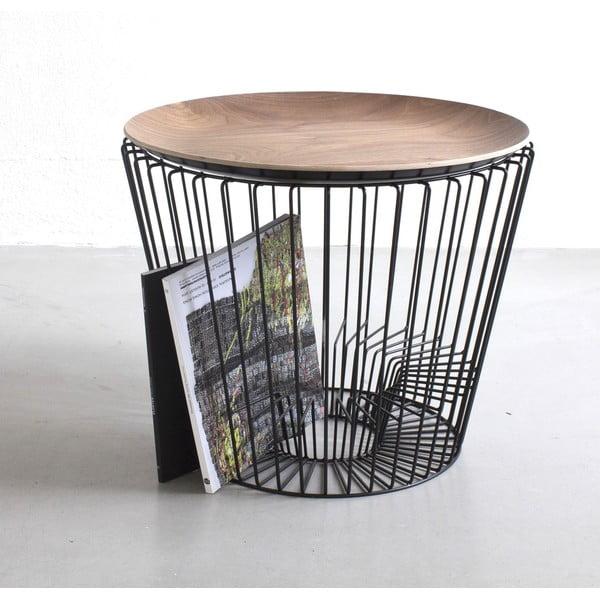 Gazetnik i podstawa stolika Range, czarny