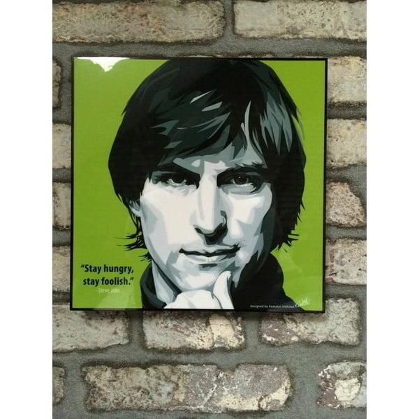 "Obraz ""Steve Jobs - Stay Hungry"""