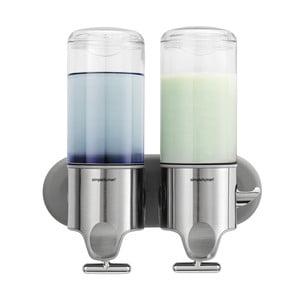 Dozownik do mydła na ścianę Duo