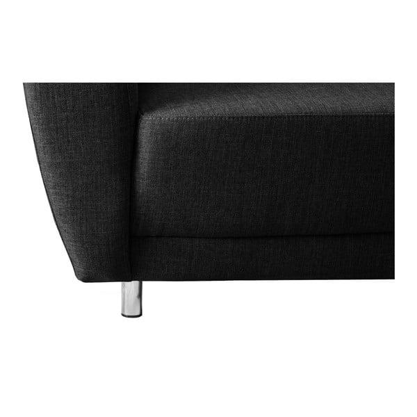 Sofa dwuosobowa Florenzzi Viotti Black