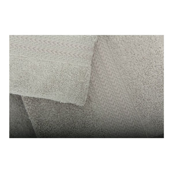 Zestaw 3 szarych ręczników Rainbow