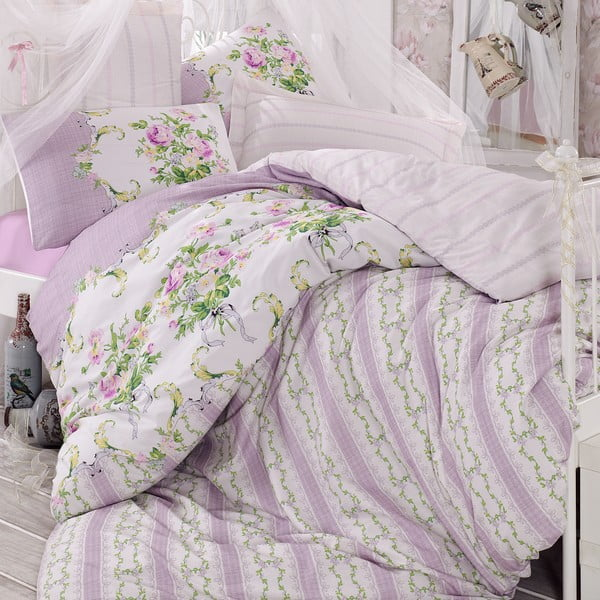 Poszwa na kołdrę Purple Romance, 220x240 cm