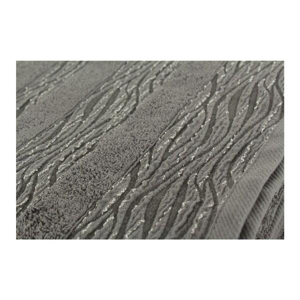 Zestaw 2 ręczników Cizgili Grey, 50x90 cm