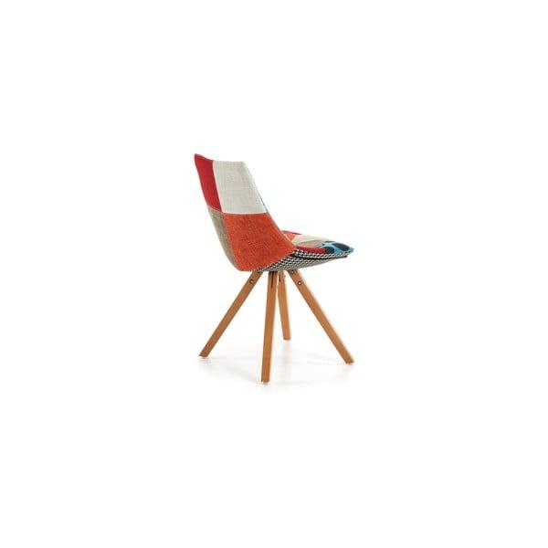 Wzorzyste krzesło La Forma Armony