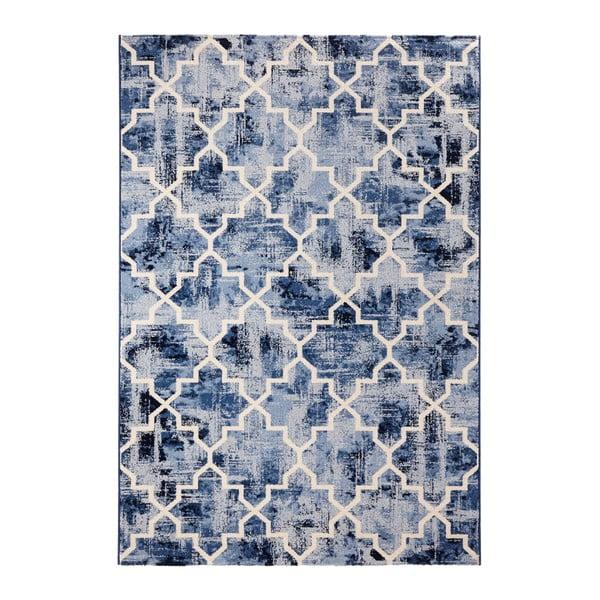 Dywan Schöngeist & Petersen Diamond Blue, 80 x 150 cm
