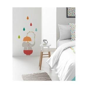 Naklejka dekoracyjna na ścianę Pooch Umbrella, 30x42cm