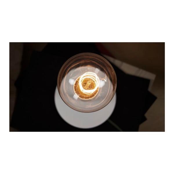 Biała lampa stołowa Bulb Attack Uno Basic