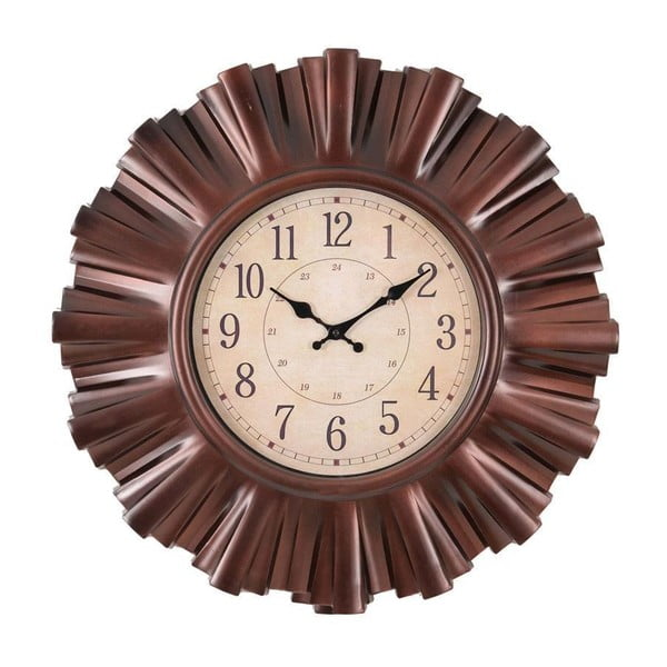 Zegar naścienny Clock In Brown