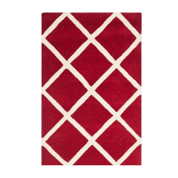 Dywan wełniany Eliza Hand, 121x182 cm