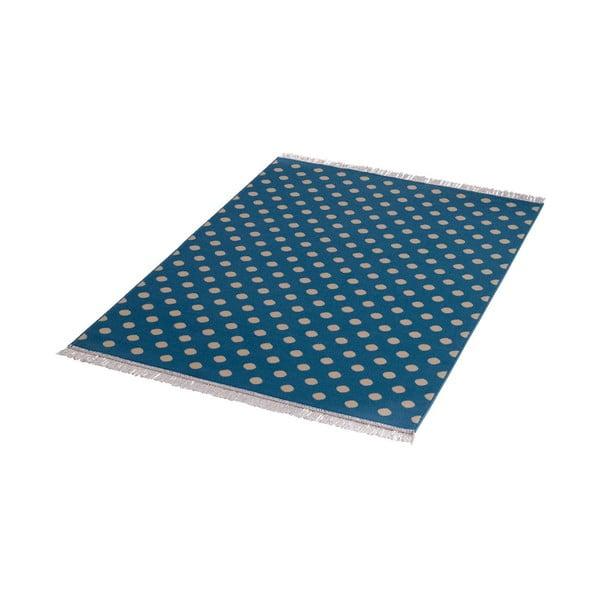 Dywan Fringe - niebieski, 140x200 cm