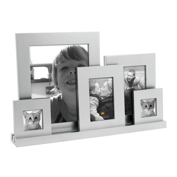 Ramka na 5 zdjęć Family Silver