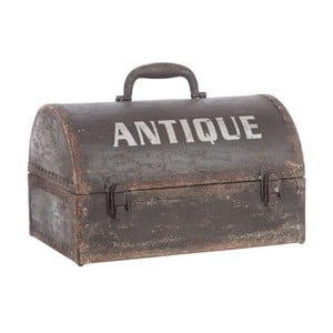 Skrzynia Antique Metal Trunk, 38x27x25 cm