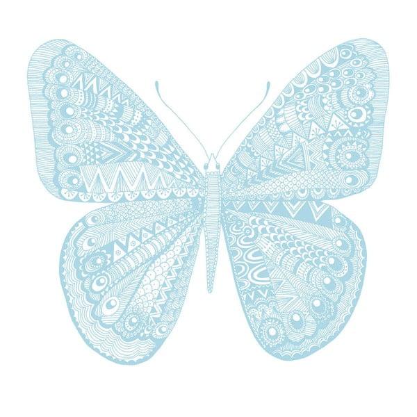 Plakat Karin Åkesson Design Butterfly Blue, 30x40 cm
