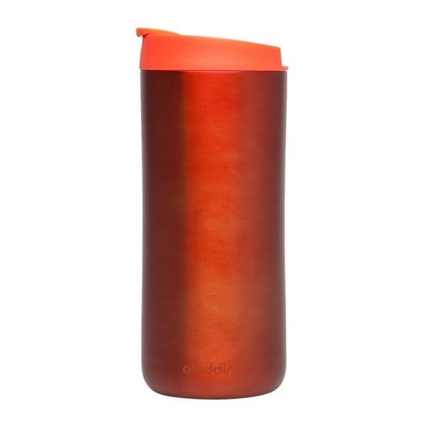 Nierdzewny kubek termiczny Flip Seal 350 ml, czerwony