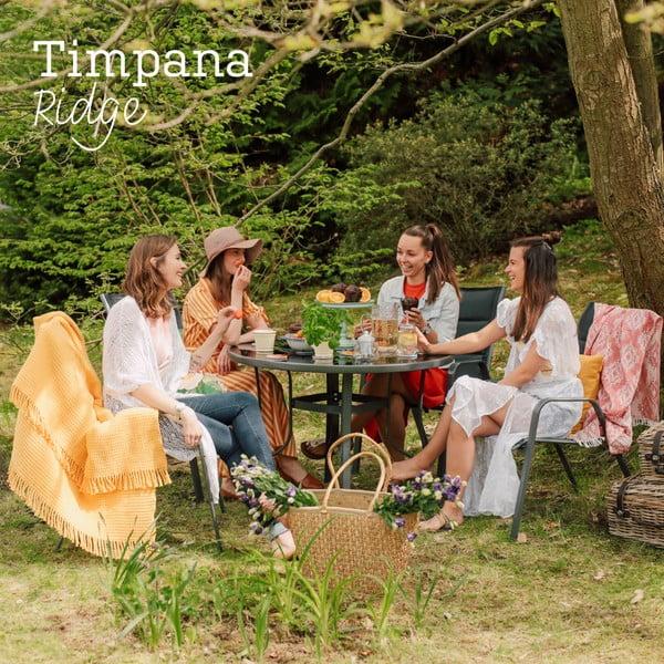 Zestaw metalowych mebli ogrodowych Timpana Ridge