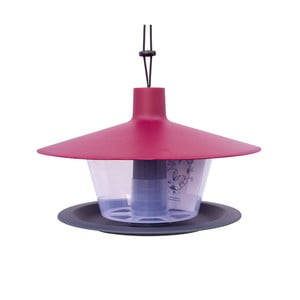 Czerwono-szary karmnik dla ptaków Plastia Finch